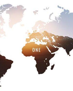 Plakat med jorden