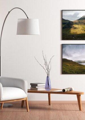 Fjeld og færøsk landskab