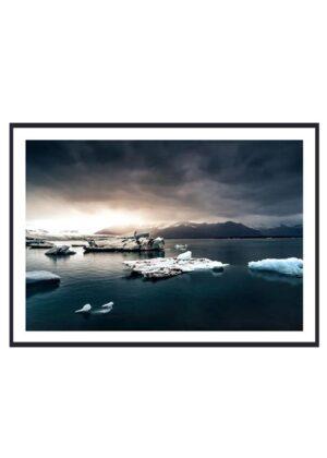 Island plakat