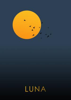 Måneplakat