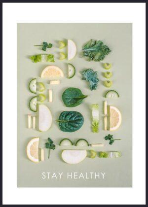 Grøntsager plakat