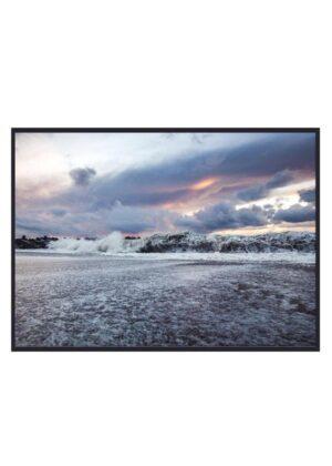 Fotokunst Vesterhavets bølger
