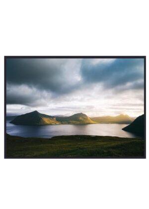 Solnedgang på Færøerne