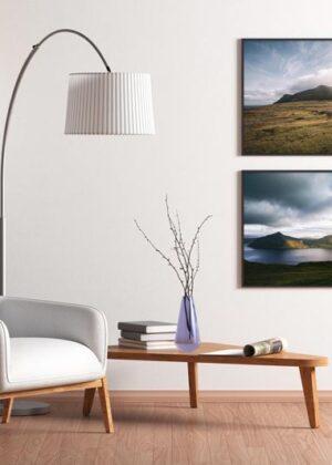 Færøerne på væggen