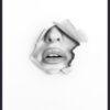Plakat af læber