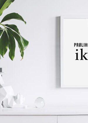 Østjysk dialekt på væggen